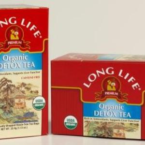 Detox Tea from Long Life Teas
