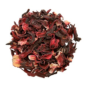 Organic Uncut Hibiscus Flower Tea from Nature's Tea Leaf