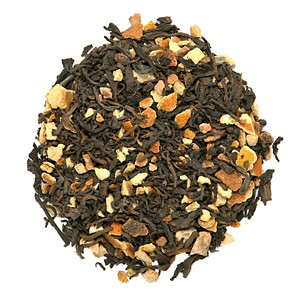 Orange Pu-erh Tea from Nature&#x27;s Tea Leaf