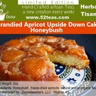 Brandied Apricot Upside Down Cake Honeybush from 52teas