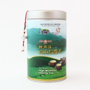 Sun Moon Lake High Mountain Oolong Tea from Ten Ren's Tea