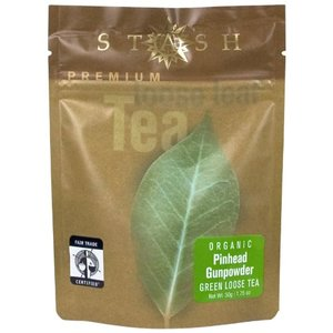Organic Pinhead Gunpowder Green Loose Leaf from Stash Tea Company