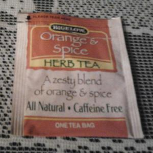 Orange &amp; Spice (Herb) Tea from Bigelow