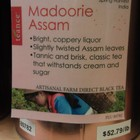 Madoorie Assam from Teance