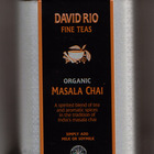 Organic Masala Chai from David Rio Fine Teas