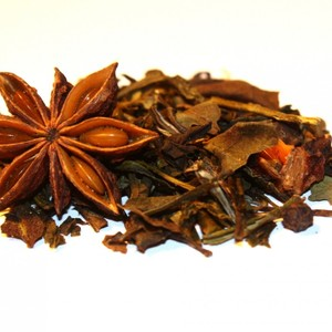 Raspberry Ginger White Mélange from Della Terra Teas