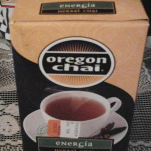 Oregon Chai  Energa Herbal Chai from Oregon Chai