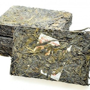 2002 Ke Yi Xing-Pu-erh Sheng Zhuan-Raw Tea Brick from ESGREEN