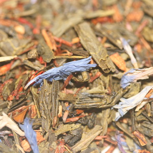 Green Tea with Saffron from Bashkevitz Spices