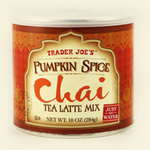 Pumpkin Spice Chai Tea Latte Mix from Trader Joe's