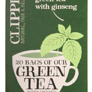 Green Tea with Ginseng from Clipper