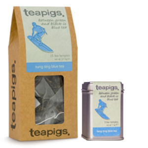 Tung Ting Blue Tea from Teapigs