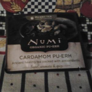 Cardamom Pu-erh from Numi Organic Tea
