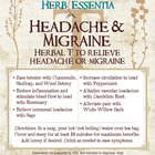 Headache & Migraine Tea from Herb Essentia