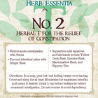No. 2 Tea from Herb Essentia