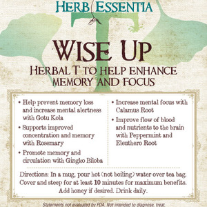 Wise Up Tea from Herb Essentia