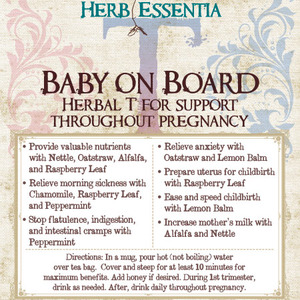 Baby on Board from Herb Essentia