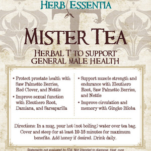 Mister Tea from Herb Essentia