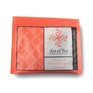 Citrus Blossom Eco Pyramid Teabag from Art of Tea