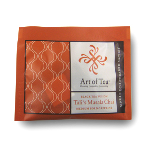 Tali's Masala Chai Eco Pyramid Teabag from Art of Tea