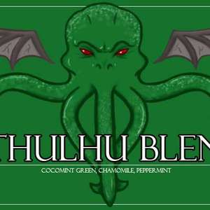 Cthulhu Tea from Custom-Adagio Teas
