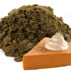 Pumpkin Pie Matcha (Black Matcha Base) from Red Leaf Tea