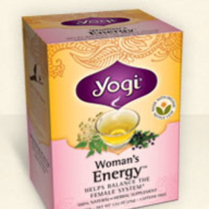 Woman's Energy from Yogi Tea