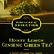 Honey Lemon Ginseng Green Tea from Kroger Private Selection 