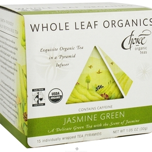 Jasmine Green Whole Leaf Organics from Choice Organic Teas