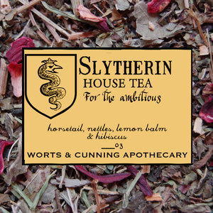 Slytherin House Tea (Organic) from Worts and Cunning Apothecary