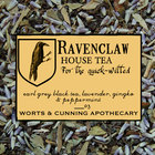 Ravenclaw House Tea (Organic) from Worts and Cunning Apothecary