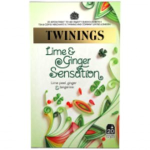 Lime and Ginger Sensation from Twinings