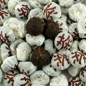 Zao Xiang Xiao Shu Tuo (Date Fragrance Mini Black Tuo Cha) 2007 from Seven Cups