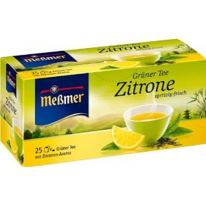 Lemon Green Tea from Meßmer