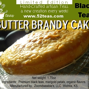 Butter Brandy Cake from 52teas