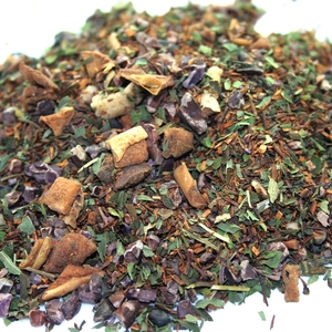 Chocolate Mint Rooibos from Sub Rosa Tea