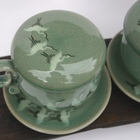 Korean Celadon Infuser Mug from Zen Tea