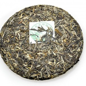2011 Sheng(Raw)Pu-erh Bing-Tea Cake-Bing Dao Old Tea Tree Silver Downy Buds-BDSD11 from ESGREEN