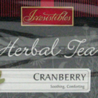Cranberry Herbal Tea from Irresistibles