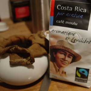 Costa Rica pur arabica caf moulu from Monoprix