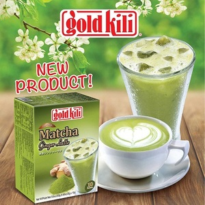 Instant Matcha Ginger Latte from Gold Kili
