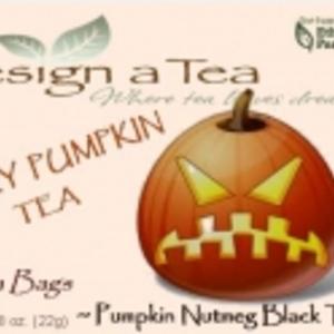 ANGRY PUMPKIN TEA from Design a Tea