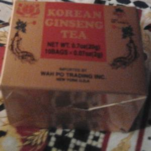 Korean Ginseng Tea from Dongwon