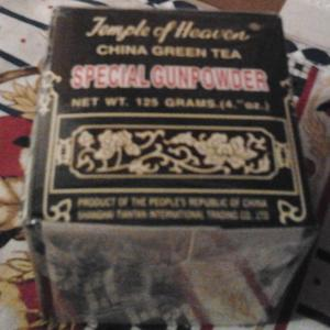 Special Gunpowder China Green Tea from Temple Of Heaven