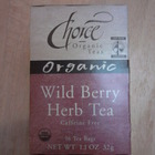 Wild Berry Herb Tea from Choice Organic Teas