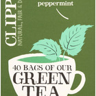 Green Tea with Mint from Clipper