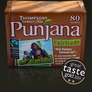 Fairtrade (Borengajuli and Phulbari) from Punjana (Thompson's Family Teas)
