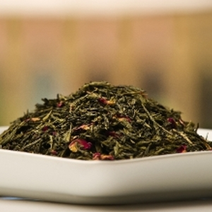 Pomegranate Green Tea from Aunt Jenn's Teas & Spices