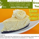 Banana Cheesecake Genmaicha from 52teas