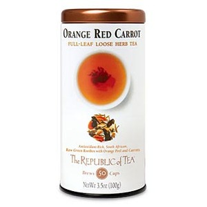Orange Red Carrot Green Rooibos Full-Leaf from The Republic of Tea